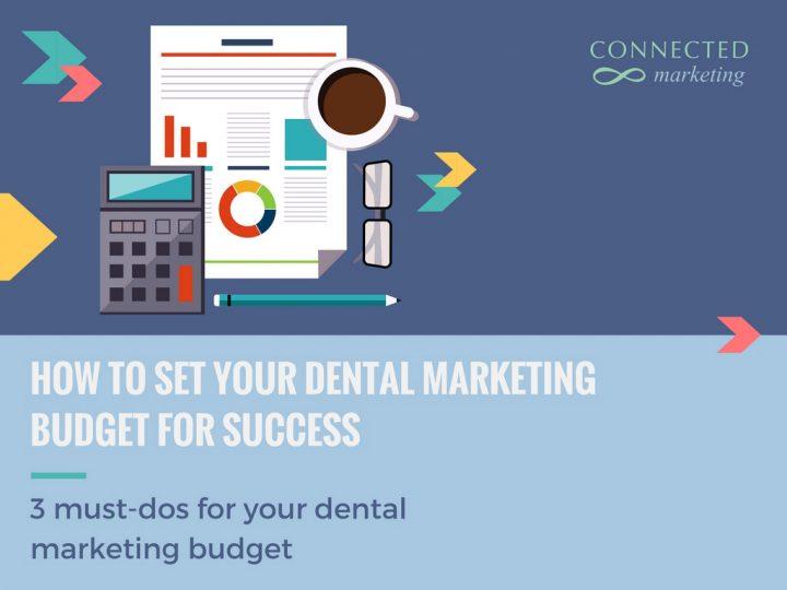 Dental marketing budget